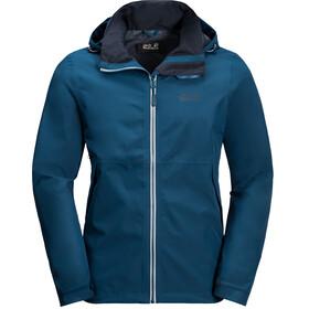 Jack Wolfskin Evandale Jacket Men poseidon blue